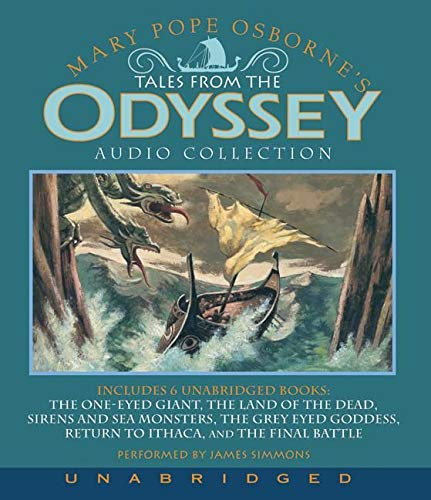 9780061254574: Tales from the Odyssey Audio Collection