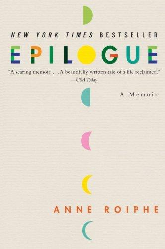 9780061254635: Epilogue: A Memoir