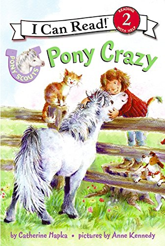 9780061255335: Pony Scouts: Pony Crazy (I Can Read Level 2)