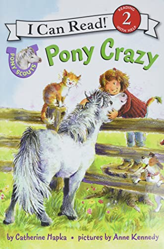 9780061255359: Pony Scouts: Pony Crazy (I Can Read Level 2)