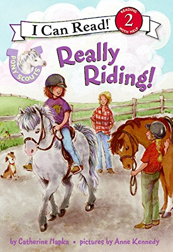 9780061255366: Really Riding! (Pony Scouts)