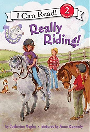 9780061255380: Pony Scouts: Really Riding! (I Can Read Book 2)