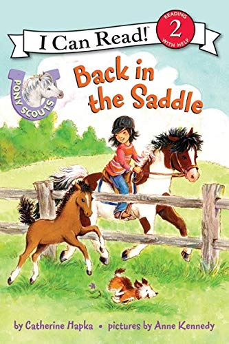9780061255397: Pony Scouts: Back in the Saddle (I Can Read Level 2)