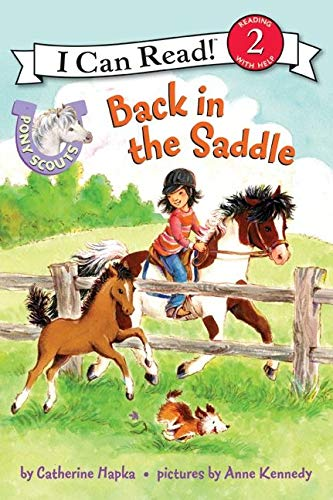 9780061255410: Pony Scouts: Back in the Saddle (I Can Read Level 2)