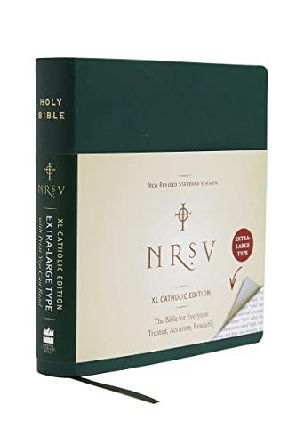 9780061255779: NRSV XL, Catholic Edition, Hardcover, Green
