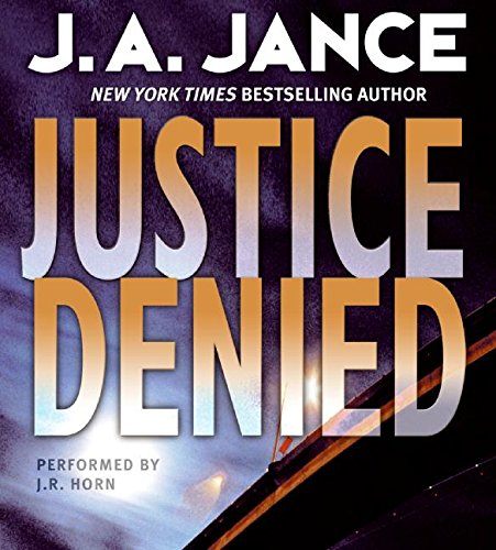 9780061256639: Justice Denied CD (J. P. Beaumont Mysteries)
