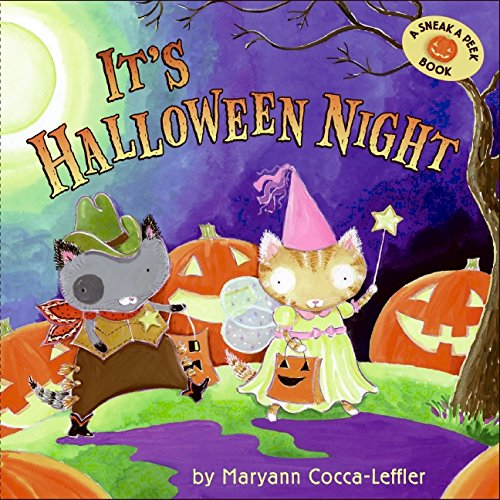 9780061256745: It's Halloween Night (Sneak a Peek Book)