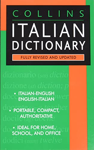 9780061260490: Collins Italian Dictionary: American English Usage
