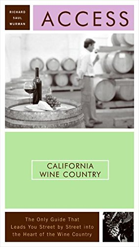 9780061260629: Access California Wine Country 8e (Access Guides)