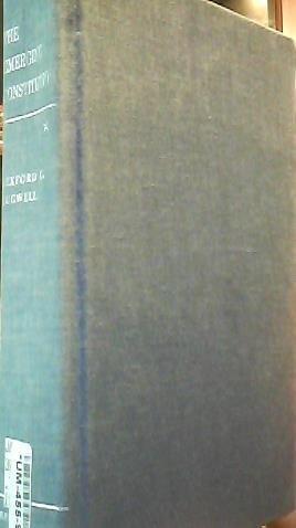 9780061282256: The emerging Constitution,