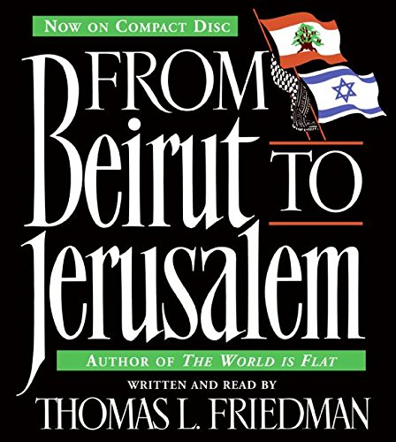 9780061284250: From Beirut to Jerusalem CD: From Beirut to Jerusalem CD