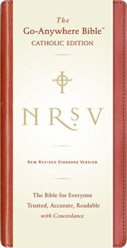 NRSV Go-Anywhere Bible CE (Red): Harper Bibles