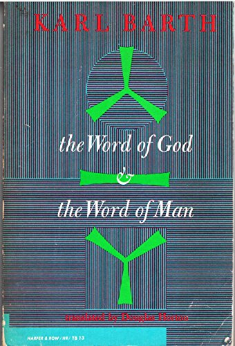 9780061300134: Word of God and Word of Man (Torchbooks)