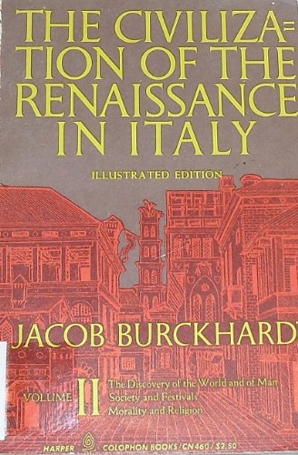 9780061300417: The Civilization of the Renaissance in Italy: v. 2