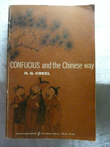 9780061300639: Confucius and the Chinese Way (Torchbooks)
