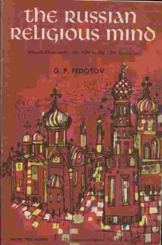 9780061300707: Russian Religious Mind (Torchbooks)