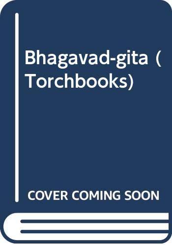 Bhagavad-gita (Torchbooks) (0061301159) by Franklin Edgerton