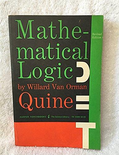 9780061305580: Mathematical Logic