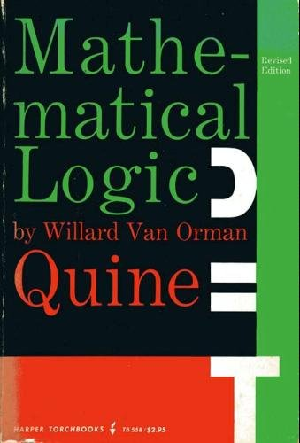 9780061305580: Mathematical Logic (Science Library)