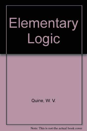 9780061305771: Elementary Logic