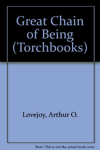 9780061310096: Great Chain of Being (Torchbooks)