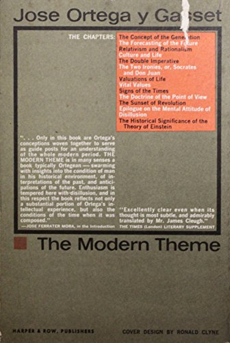 9780061310386: Modern Theme (Torchbooks)