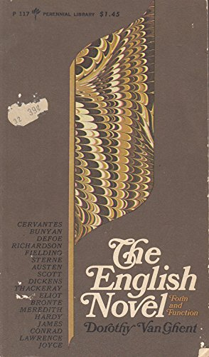 9780061310508: The English Novel: Form and Function