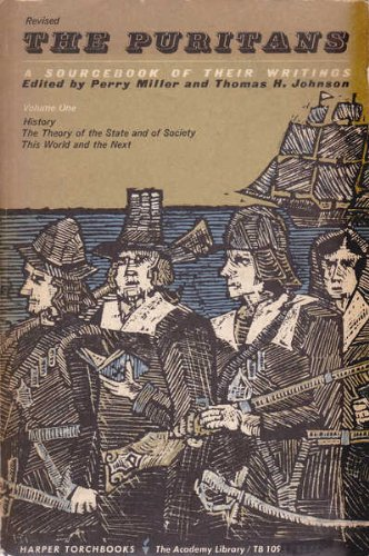 9780061310935: The Puritans: A Sourcebook of Their Writings (Academy Library)