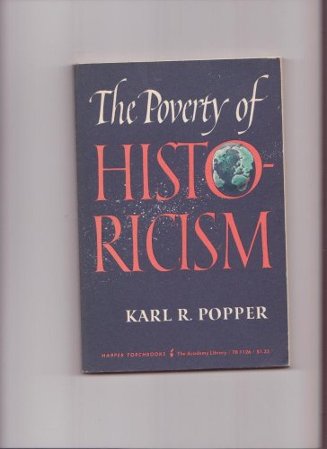 9780061311260: The Poverty of Historicism