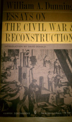 9780061311819: Essays on the Civil War and Reconstruction (Torchbooks)