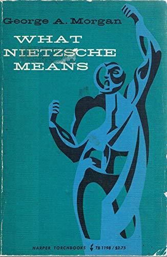 9780061311987: What Nietzsche Means (Torchbooks)