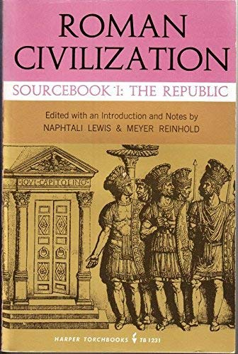 9780061312311: Roman Civilization: A Sourcebook (Torchbks.)