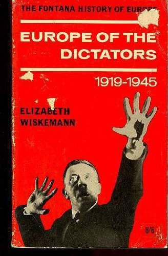 9780061312731: Europe of the Dictators, 1919-1945