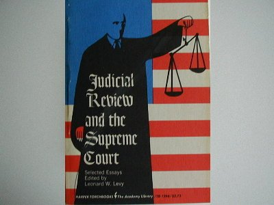 9780061312960: Judicial Review and the Supreme Court (Torchbooks)