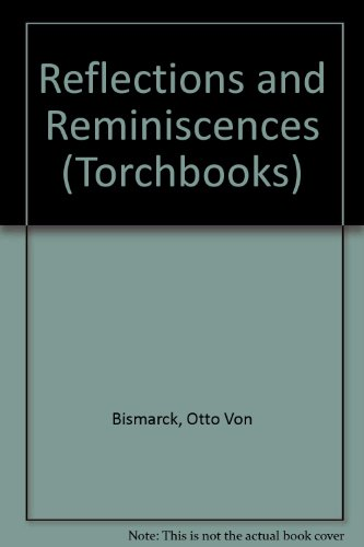 9780061313578: Reflections and Reminiscences (Torchbooks)