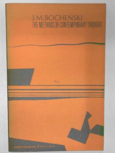 9780061313776: Methods of Contemporary Thought (Torchbooks)