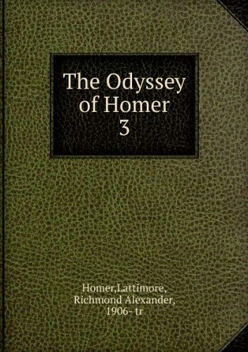 9780061313899: Odyssey (Torchbooks)