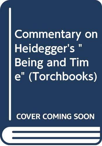 9780061314643: Commentary on Heidegger's