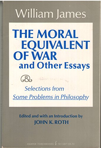 9780061315879: Moral Equivalent of War and Other Essays (Harper torchbooks, TB 1587)