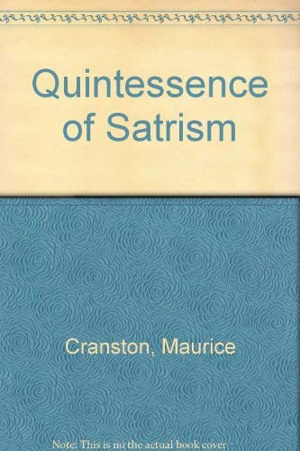 9780061316395: Quintessence of Satrism