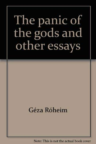 9780061316746: The panic of the gods and other essays (Harper torchbooks, TB1674)