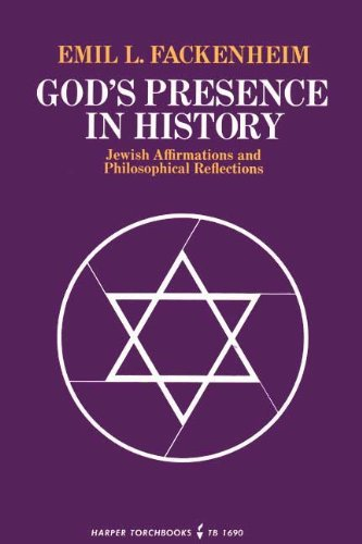 9780061316906: God's Presence in History: Jewish Affirmations and Philosophical Reflections
