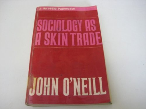 9780061317330: Sociology as a skin trade;: Essays towards a reflexive sociology (Harper torchbooks, TB 1733)