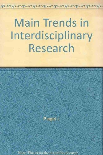 9780061317552: Main Trends in Interdisciplinary Research