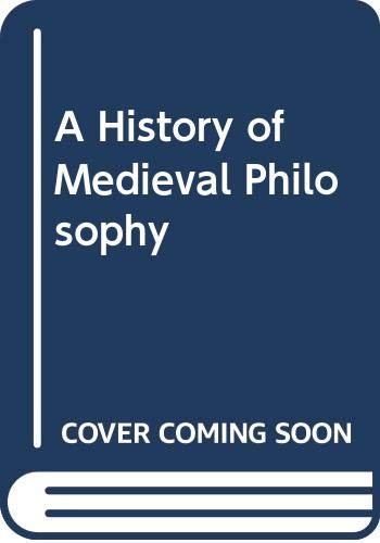9780061317866: A History of Medieval Philosophy