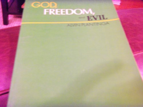9780061318115: God, Freedom and Evil. Allen & Unwin. 1975.