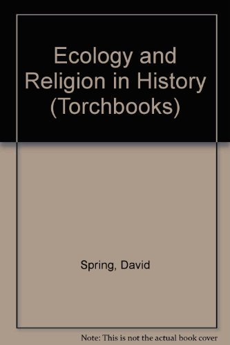 9780061318290: Ecology and Religion in History