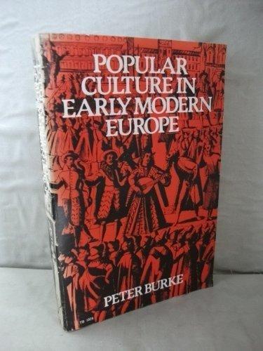 9780061319280: Popular Culture in Early Modern Europe (Harper Torchbooks)