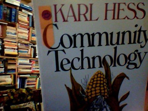 9780061319587: Community Technology