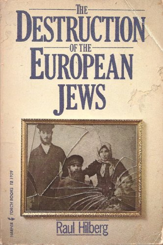 9780061319594: Destruction of the European Jews